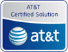 AT&T cerfication logo for AstraSync