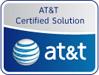 AT&T cerfication logo for AstraSync